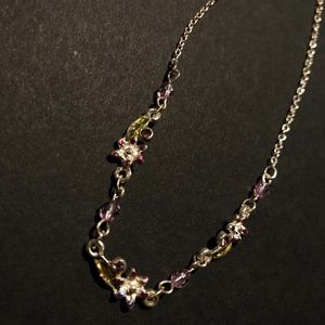 Three-Flower Necklace